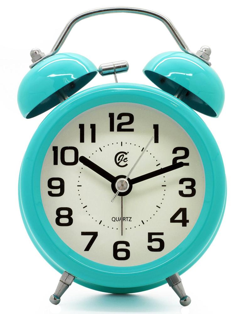 Turquoise Retro Alarm Clock