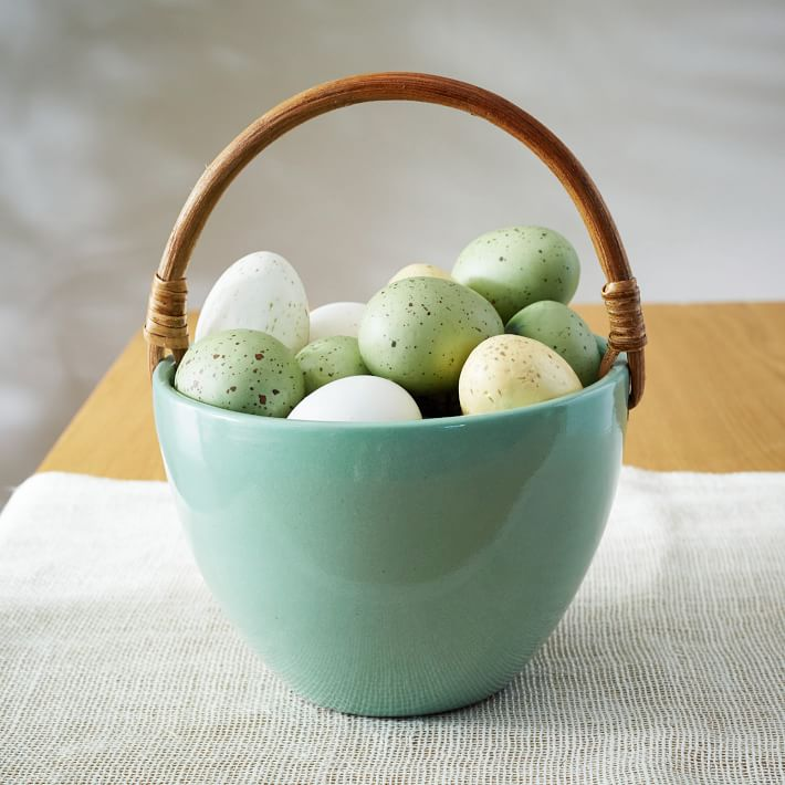 Ceramic Easter Basket