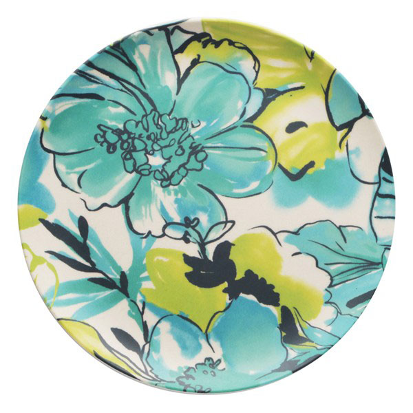 Floral Salad Plates