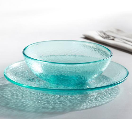 Fresca Turquoise Melamine Dinnerware