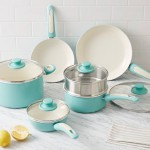 Greenpan Nonstick 10-Piece Set in Aqua