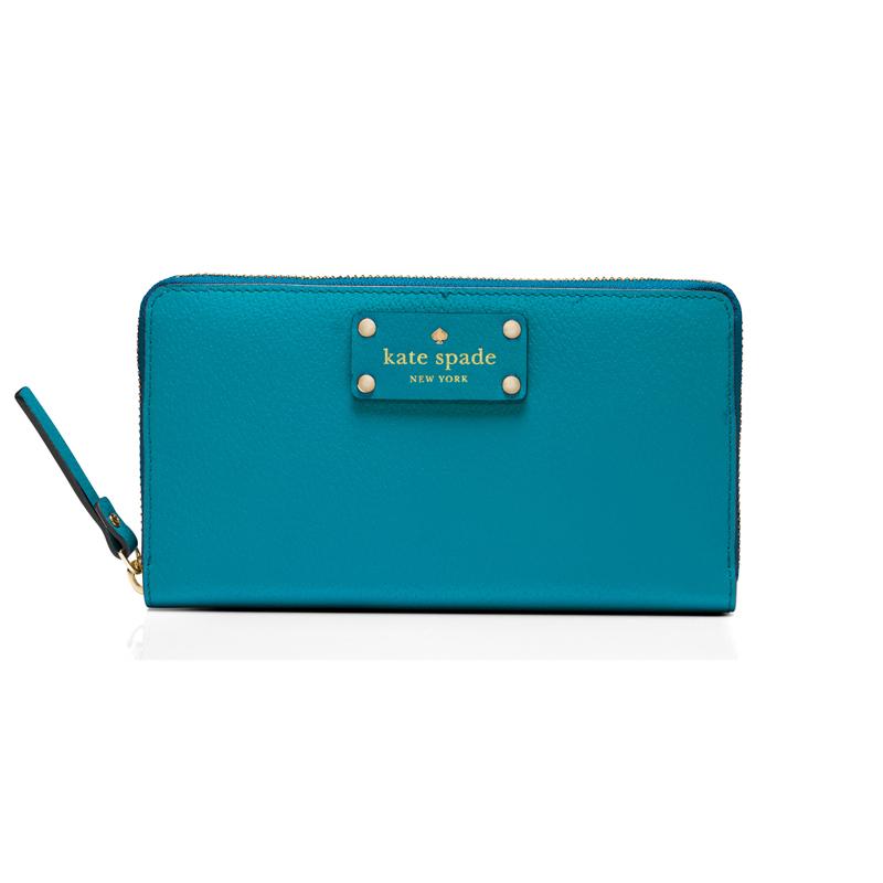 Kate Spade Wellesley Neda in Neon Turquoise