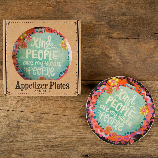 Kind People Appetizer Plates