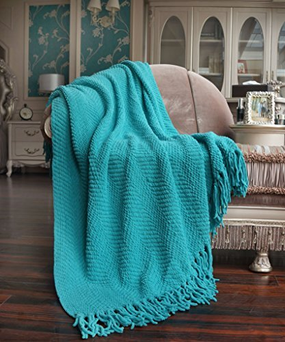 Knitted Tweed Throw
