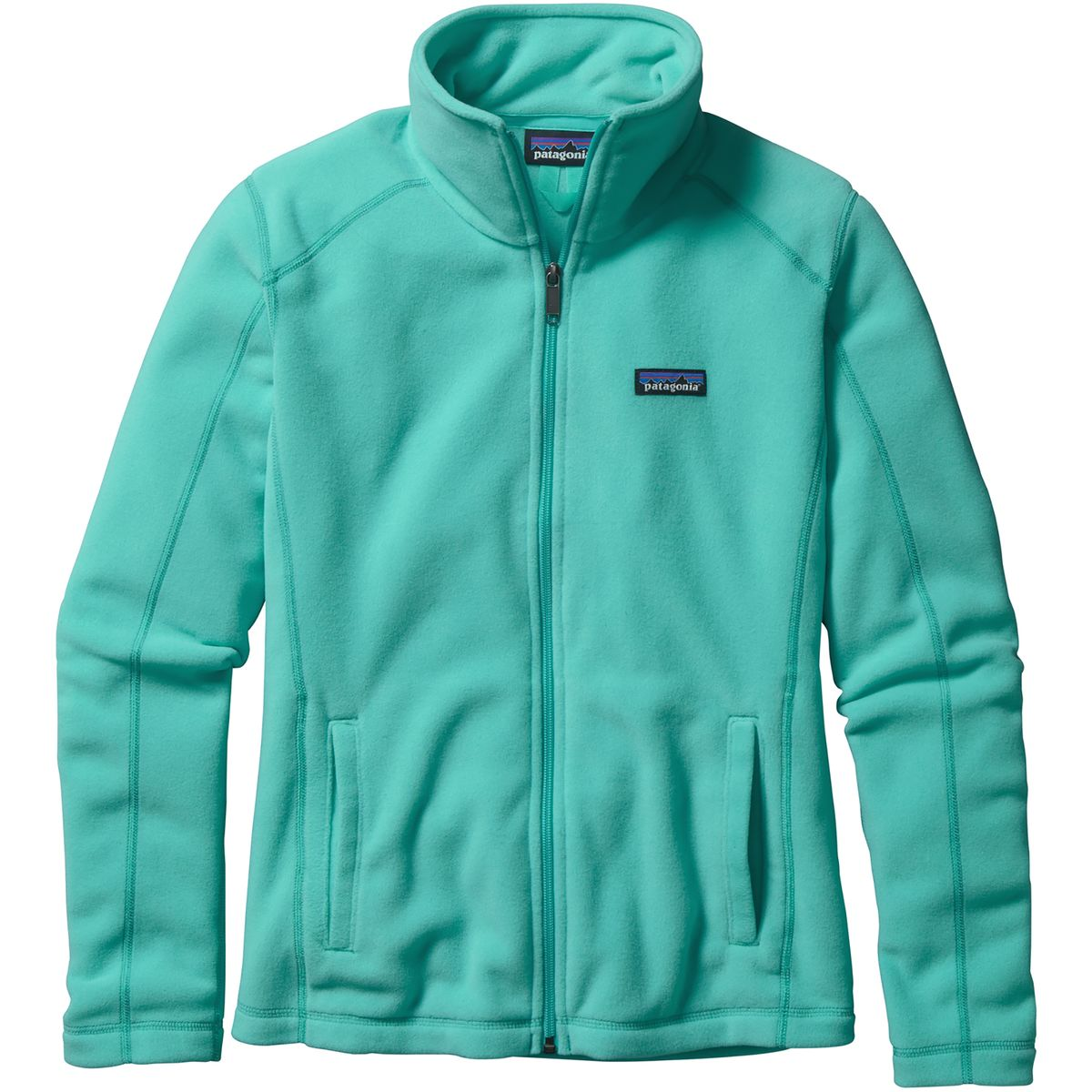 Patagonia Micro D Fleece Jacket in Howling Turquoise | Everything ...