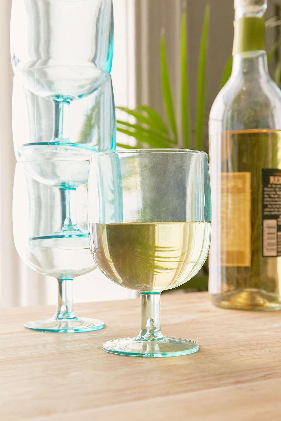 Stackable Wine Glasses Set