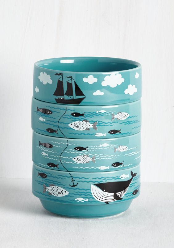 Swell Sea-soned Bowl Set