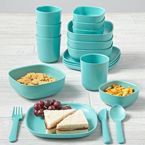 Aqua Gusto Dinnerware