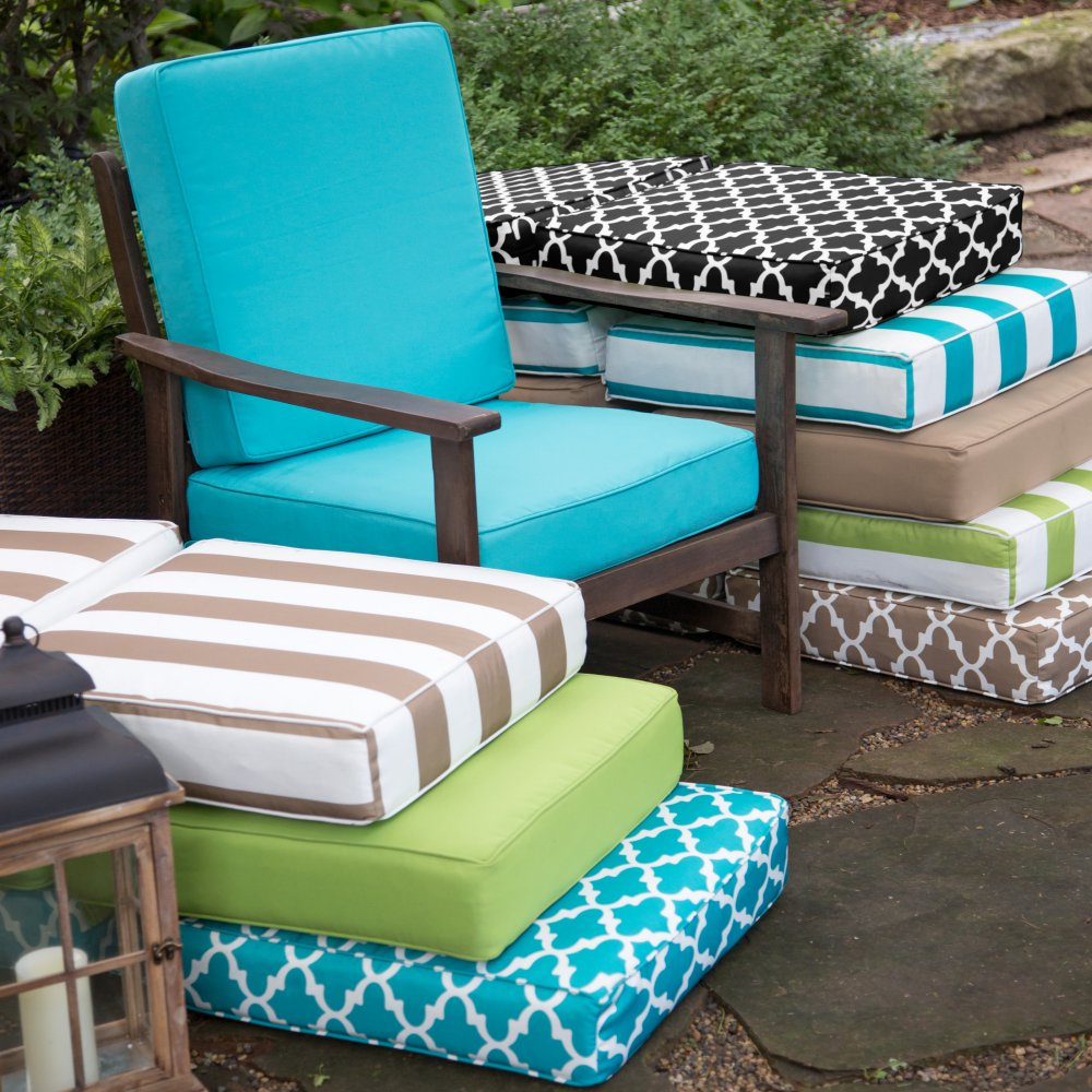 outdoor if fit an your guide furniture to have accurate informal this lounge turquoise new looking tips cushions on you are chair ensure refresh will use all replacing patio sun