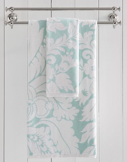 Damask Quick-Dry Towels