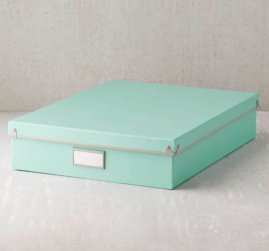 Keepsake Document Storage Box