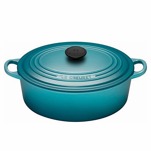 Le Creuset 5 Qt. Signature Oval French Oven in Caribbean