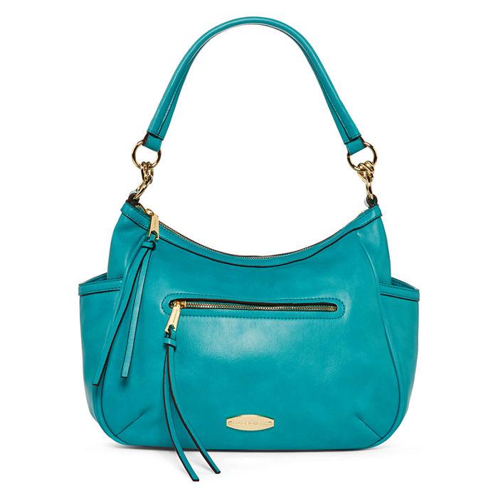 Liz Claiborne Teal Maritime Hobo Bag