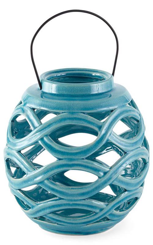 Outdoor Oasis Ceramic Lantern