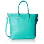 Turquoise Penelope 2-in-1 Bucket Tote Bag with Pouch