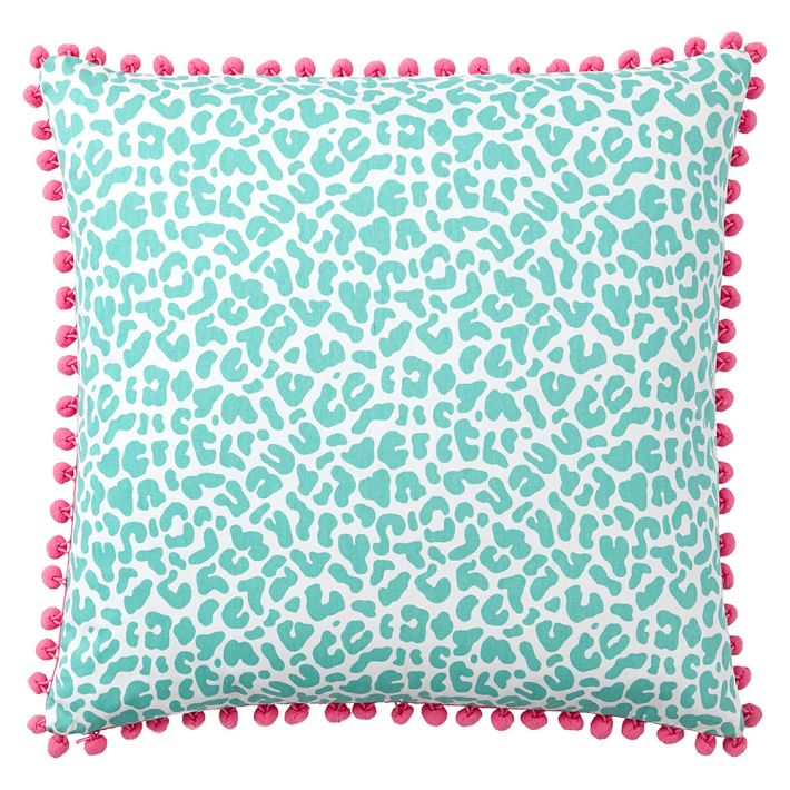 Poolside Splash Pillow Cover