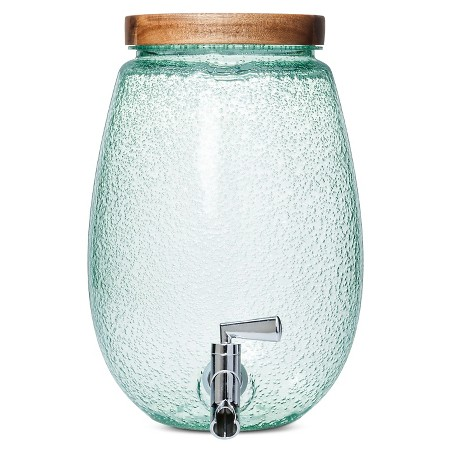 Plastic Round Bubble Beverage Dispenser