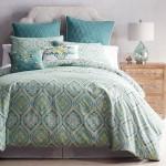 Turquoise Capri Tile Duvet Cover & Sham