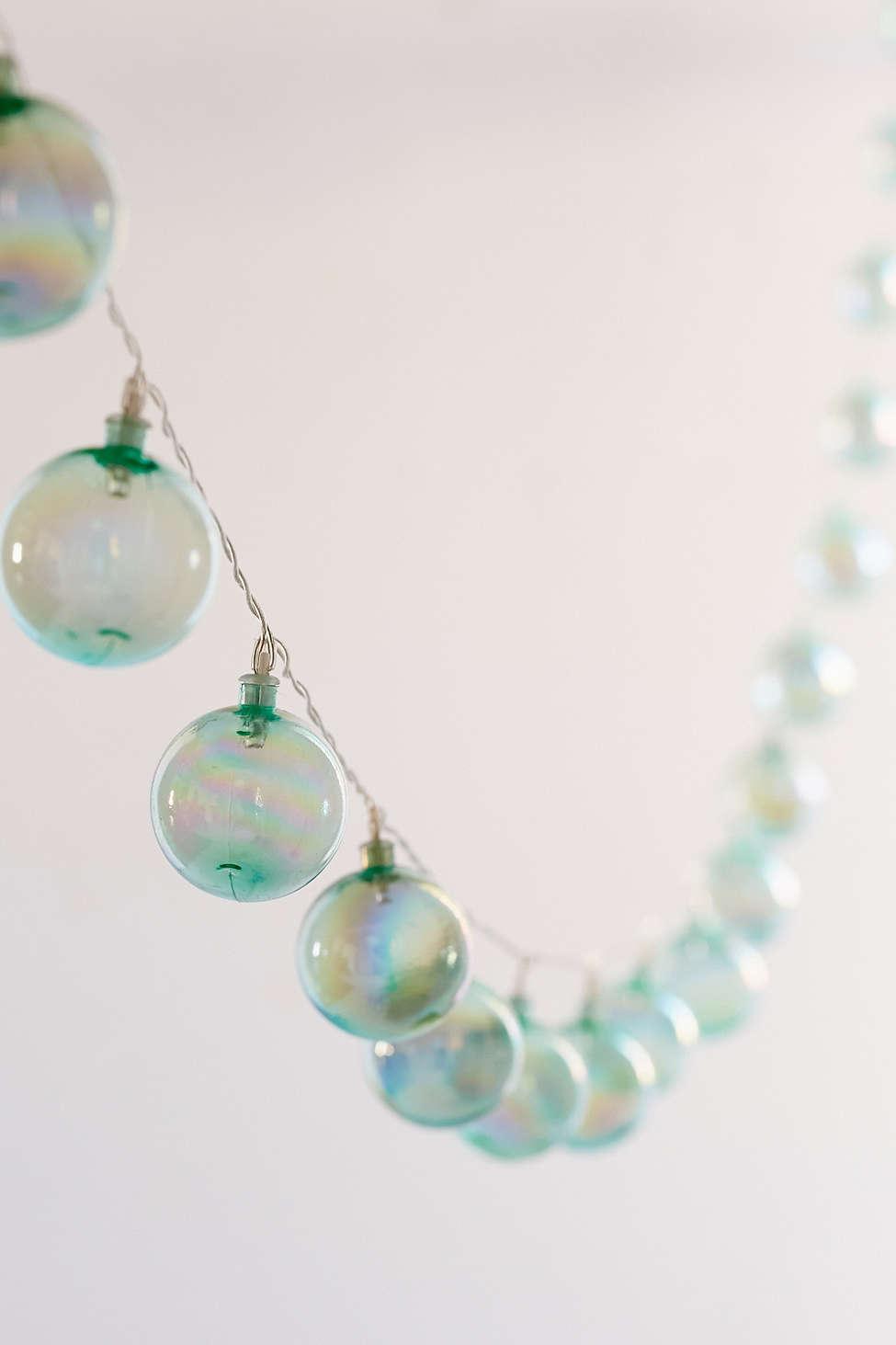 Iridescent Bubble String Lights