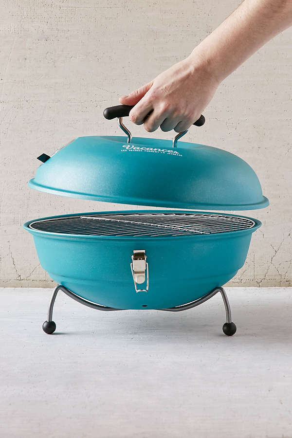 Turquoise Vacances Portable Barbeque
