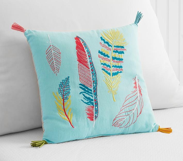 Jenni Kayne Feather Decorative Pillow