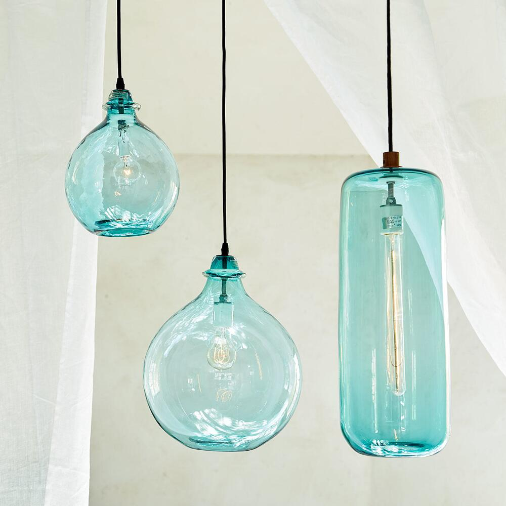 Salon Glass Demijohn Pendant