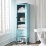 Sky Blue Toscana Tall Cabinet