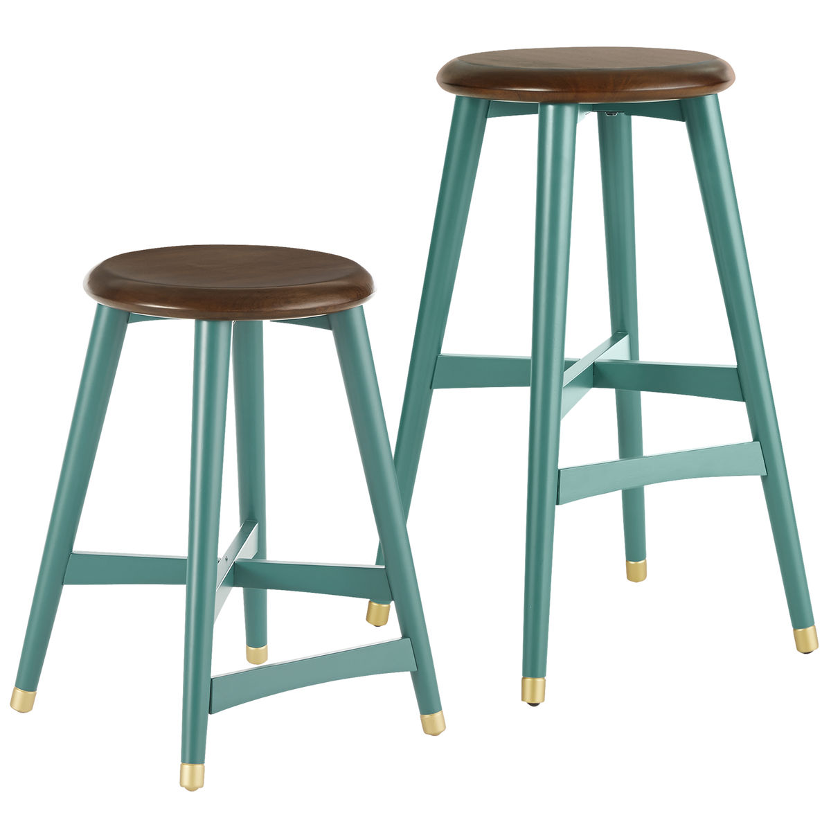 Turquoise Cooper Bar & Counter Stools