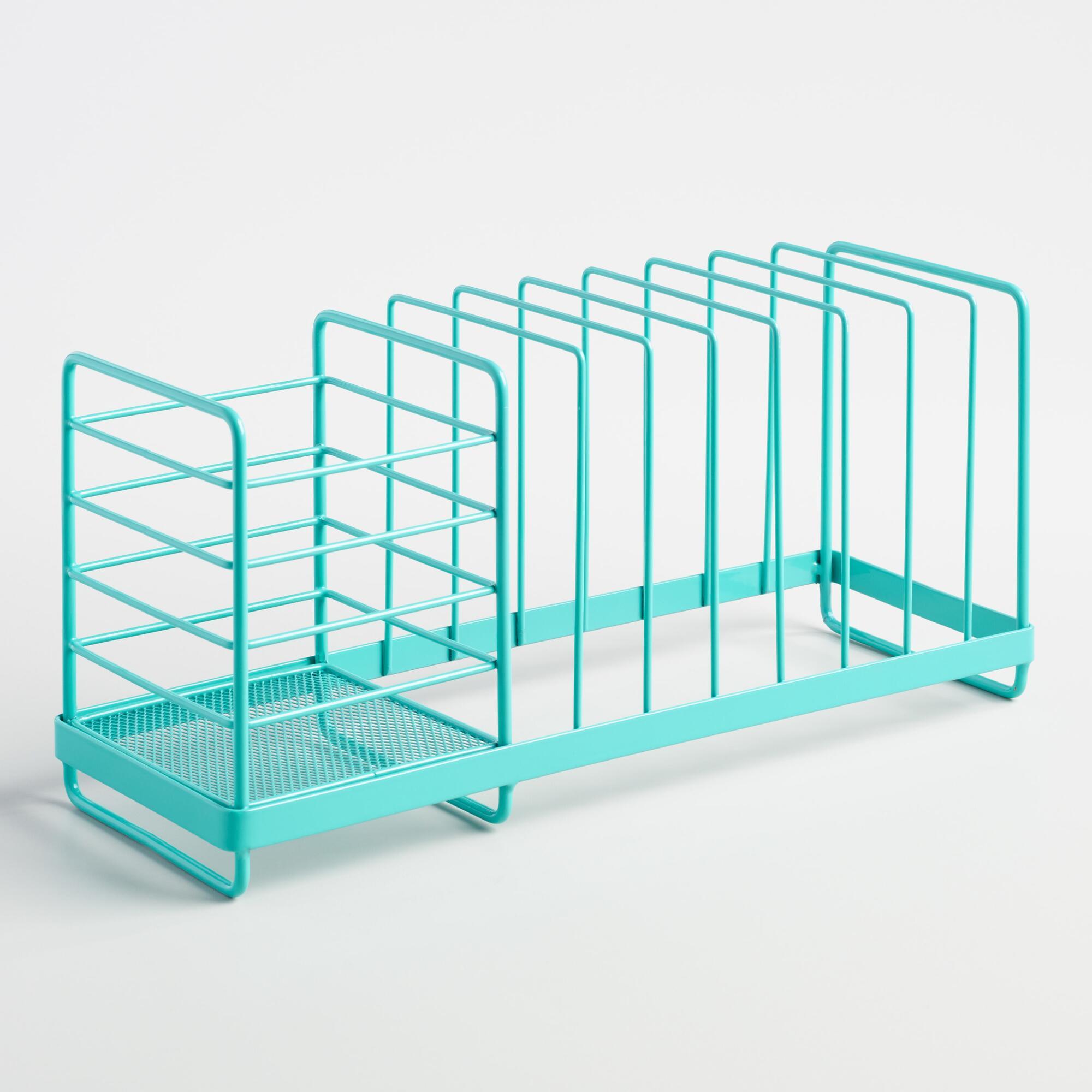 Aqua Compact Dish Rack
