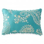 Turquoise Casbah Oblong Decorative Pillow