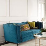 Haute House Santiago Peacock Sofa