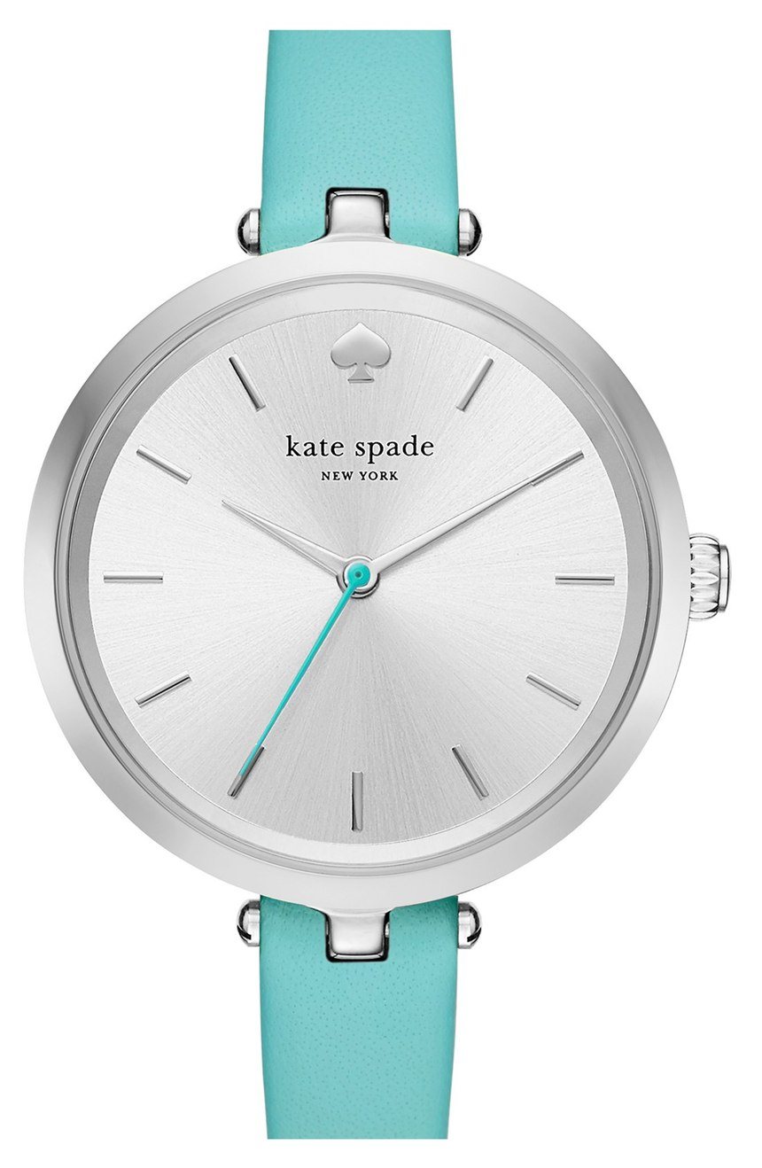 Kate Spade Turquoise Holland Round Watch