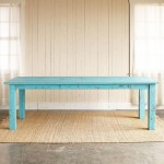 Turquoise Cumberland Outdoor Dining Table