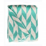Turquoise Margaret Throw