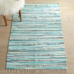 Chindi Jute Metallic Blue 3×5 Rug