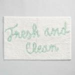 Fresh and Clean Tufted Bath Mat