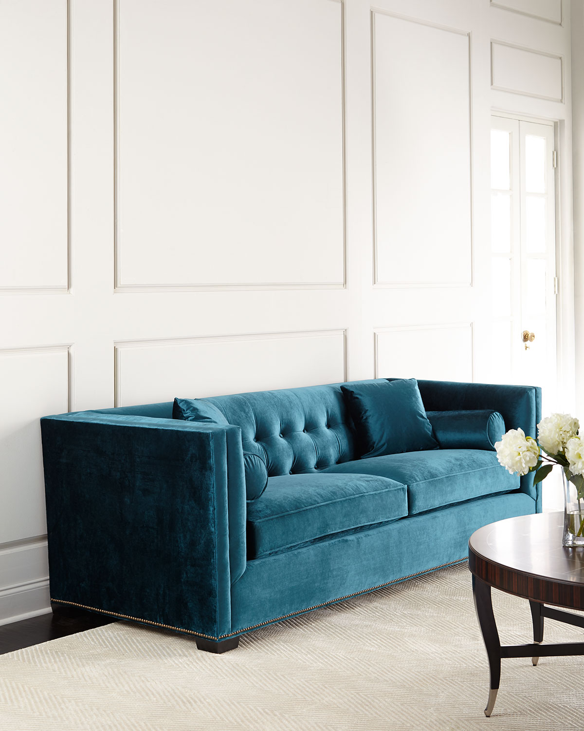 Jade Tufted Sofa
