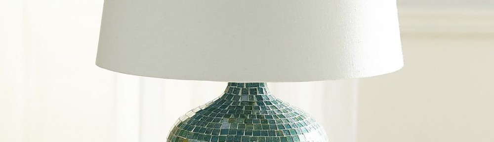 Best Oceans Turquoise Mosaic Table Lamp
