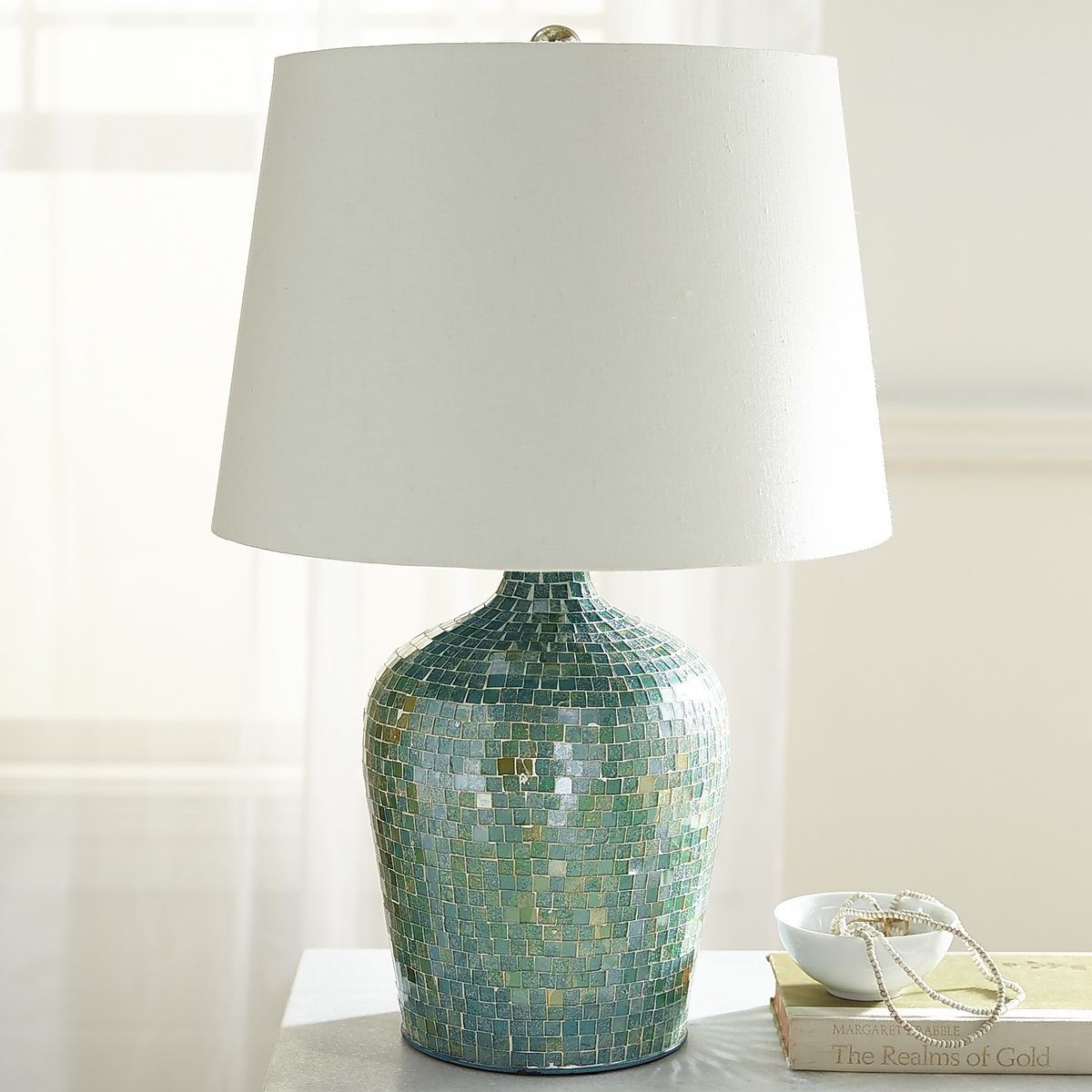 by turquoise table gunnar lamp nylund ceramic for rorstrand chamotte