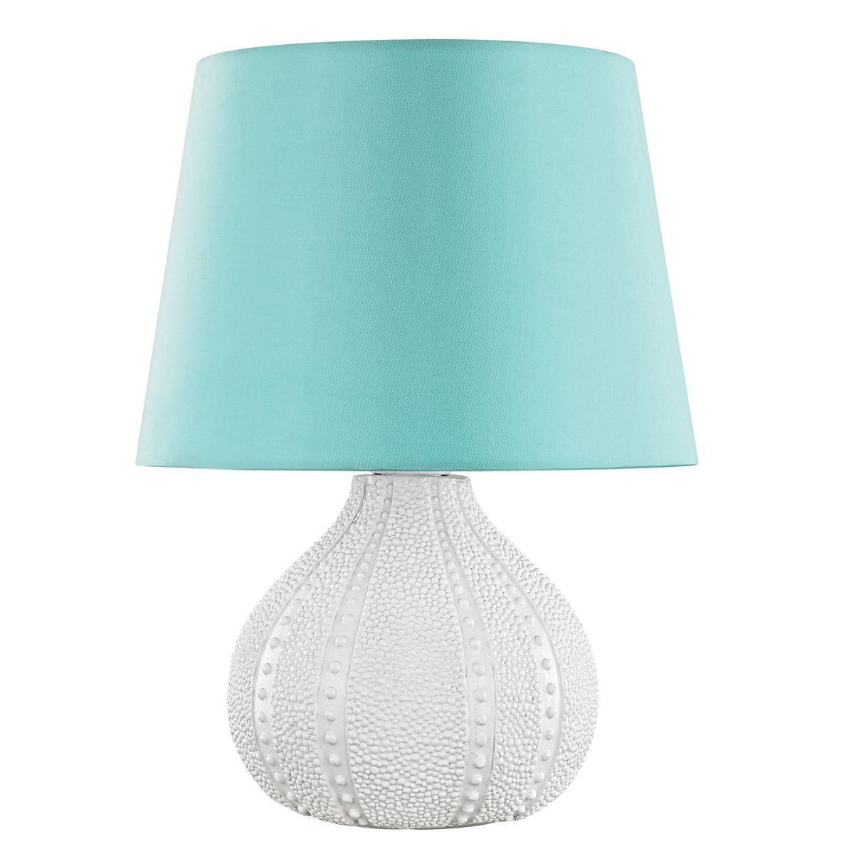 Sea Urchin Outdoor Table Lamp with Sea Green Shade