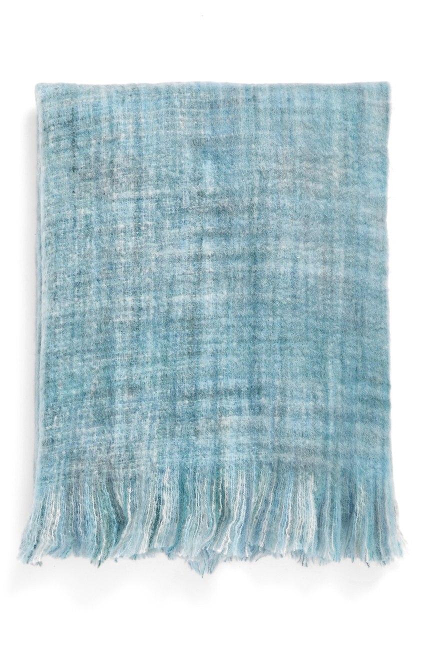 Brushed Space Dye Throw Blanket
