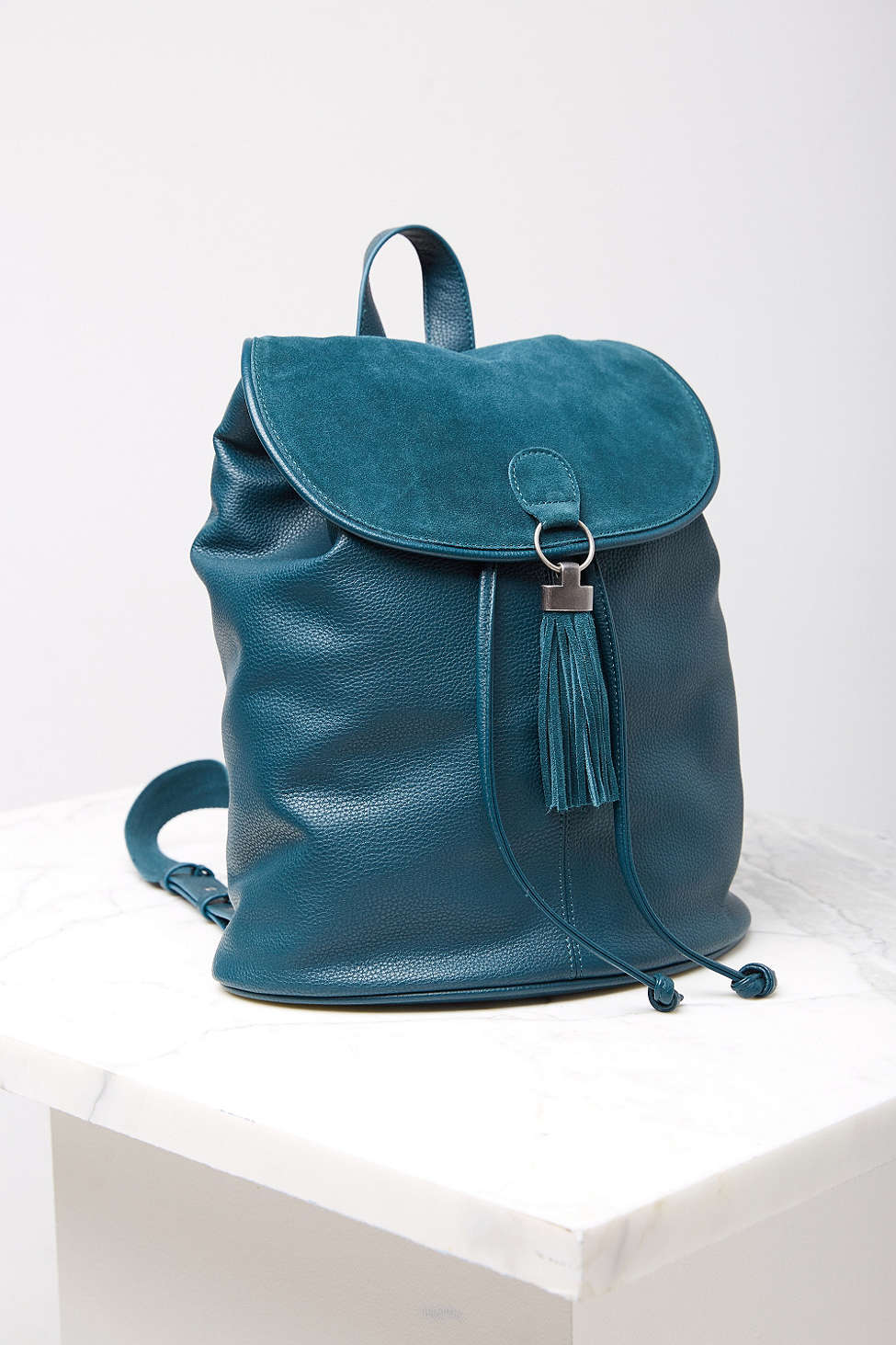 Turquoise Ecote Tassel Ring Backpack