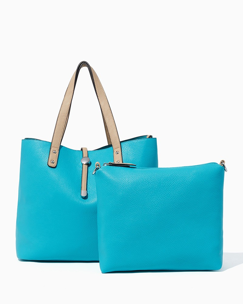 Turquoise Wallaby Mama Bag-in-Bag