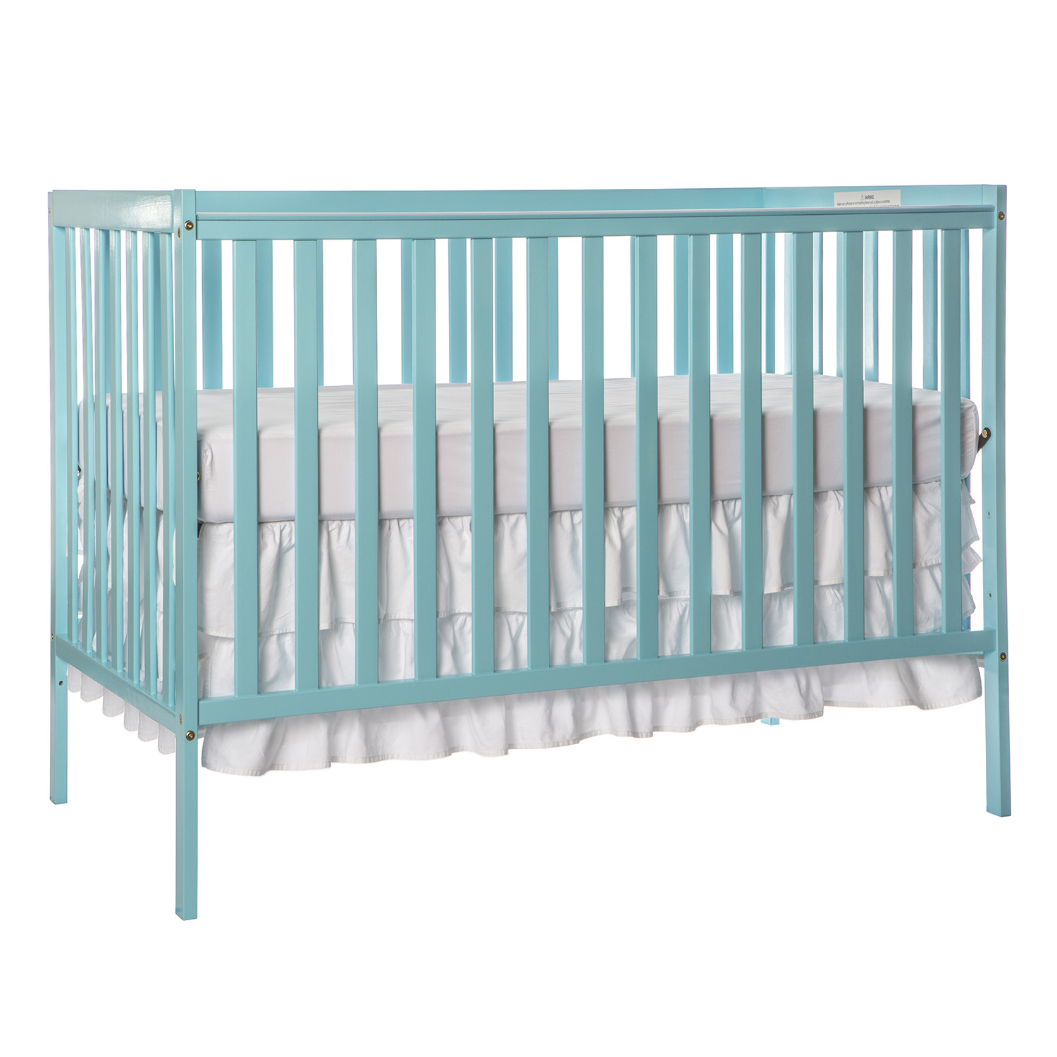 Aqua Sky Synergy 5-in-1 Convertible Crib