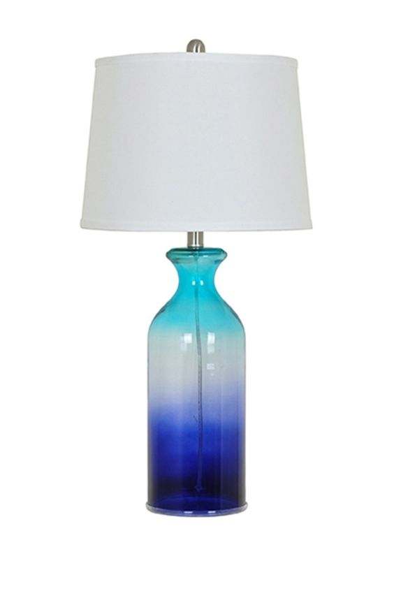 Shades of Blue Table Lamp