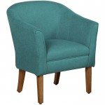 Teal Connor Accent Chair