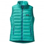 Turquoise Patagonia Down Sweater Vest