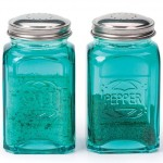 Turquoise Retro Salt and Pepper Shaker