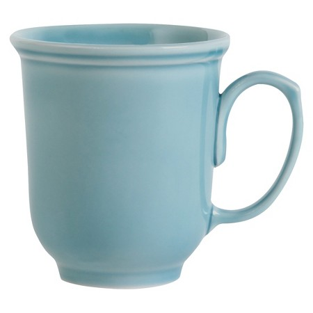 Wellsbridge Semi-Porcelain Aqua Mug