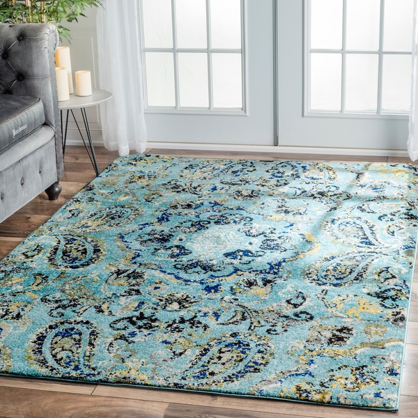 NuLOOM Modern Vintage Abstract Area Rug